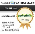 smartmobil Auszeichnung