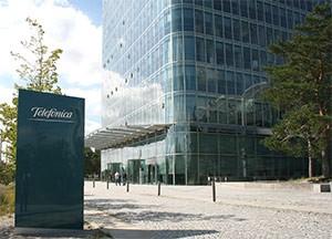 Telefonica Zentrale; Bild: Telefonica